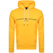 Product Image for Tommy Hilfiger Logo Hoodie Yellow